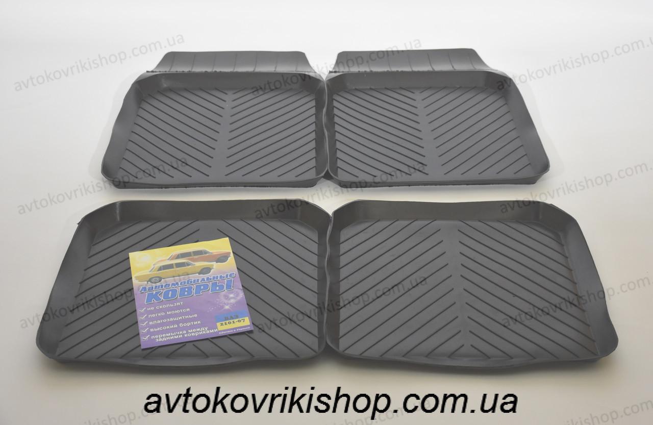 Гумові килимки ВАЗ 21013 1977-1988 ЗРТИ Харків