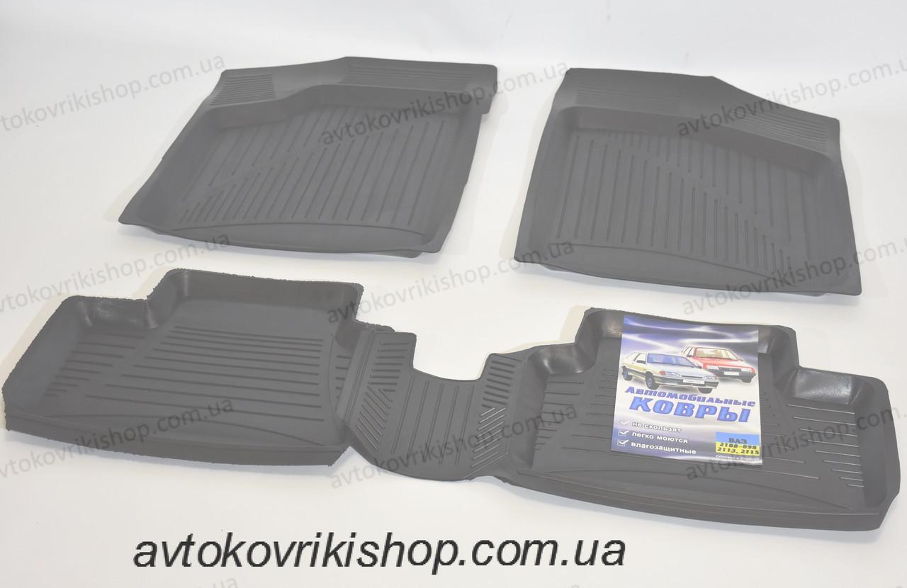 Резиновые коврики ВАЗ 21099 1990-2011 ЗРТИ Харьков