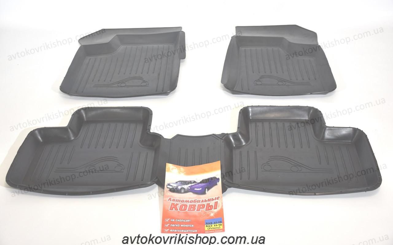 Гумові килимки ВАЗ 2112 1998-2009 ЗРТИ Харків