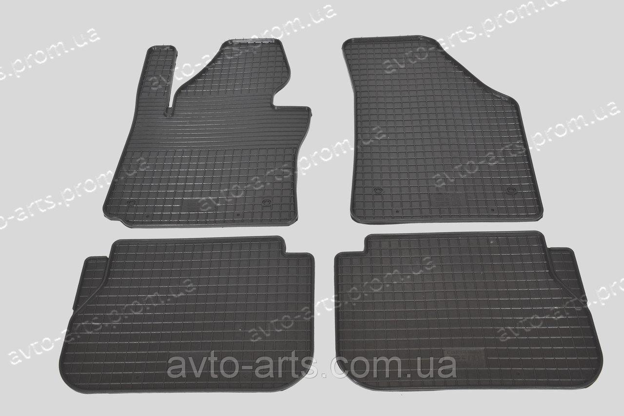 Резиновые коврики Volkswagen Caddy 2003- ЗРТИ Харьков