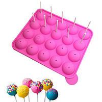 Силиконовая форма для выпечки конфет Tasty Top Cake Pops