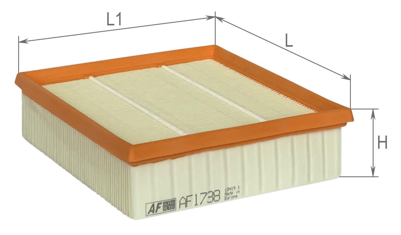 Фильтр воздушный Alpha Filter AF1738 (AP 072/1)