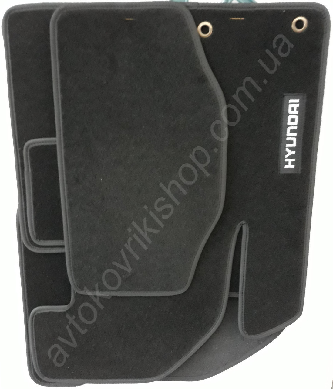 Ворсовые коврики Hyundai i30 (GD) 2011- CIAC GRAN