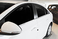 Chevrolet Cruze Sd 2009- Нижний молдинг стекла 4шт