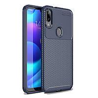 Чехол Carbon Case Xiaomi Mi Play Синий