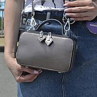 """Женская кожаная сумка """"Фемида Bronze"""", фото 1"""