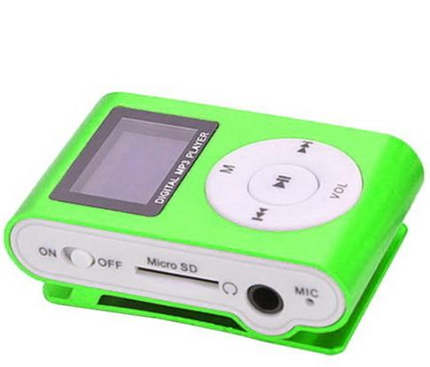 MP3 плеер Green