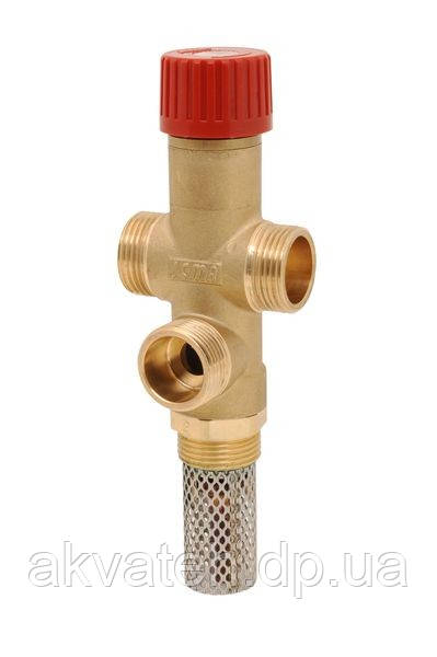 Клапан теплового сброса для твердотопливных котлов