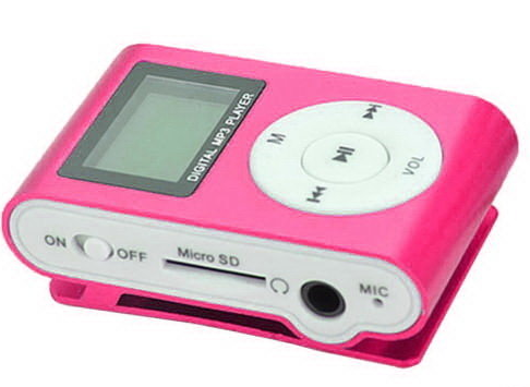MP3 плеер Pink FM