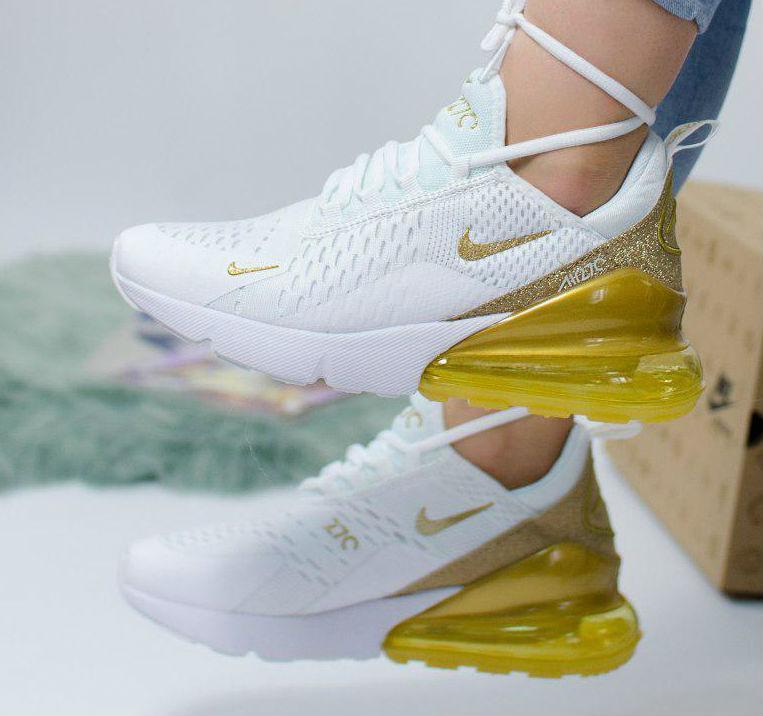 heißer verkauf Nike Air Max 270 White Gold