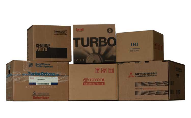 Турбина 53369886449 (DAF Industriemotor 300 HP)