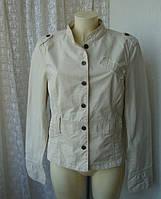Жакет женский пиджак куртка легкая хлопок весна лето бренд Street One р.50