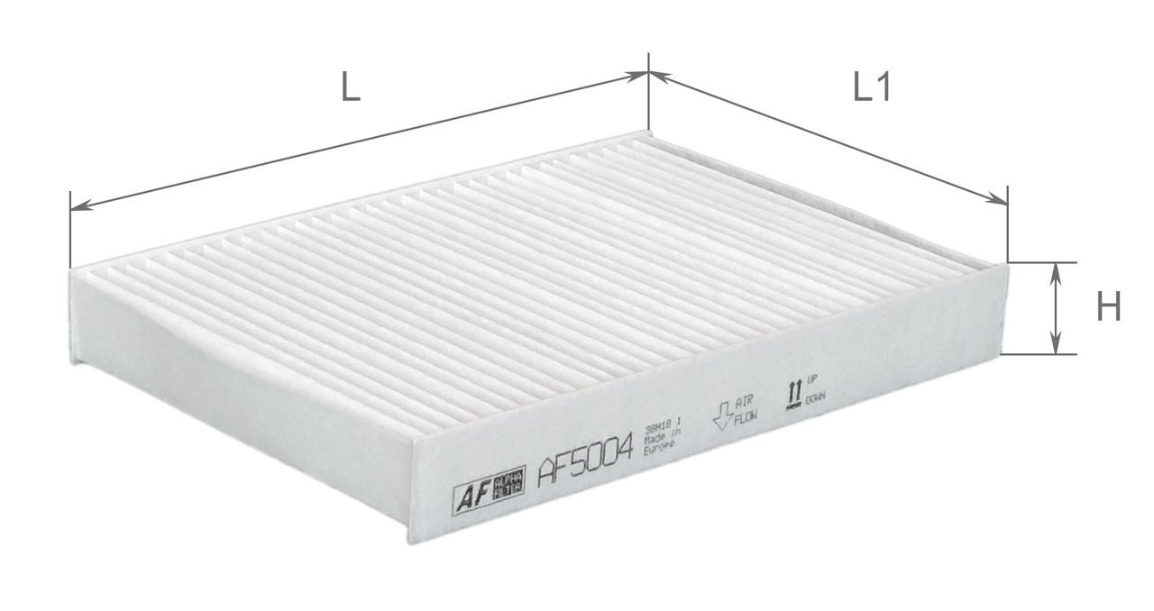 Фильтр салонный Alpha Filter AF5004 (K1052)