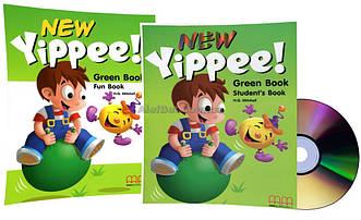 Английский язык / New Yippee / Student's+Fun Book+CD. Учебник+Тетрадь (комплект), Green / MM Publications