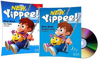 Английский язык / New Yippee / Student's+Fun Book+CD. Учебник+Тетрадь (комплект), Blue / MM Publications