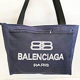 Универсальные сумки оптом для покупокBalenciaga (черный)28*48см, фото 4