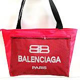 Универсальные сумки оптом для покупокBalenciaga (черный)28*48см, фото 6