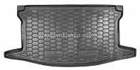Резиновый коврик багажника Toyota Yaris III 2015- (верхняя полка) Avto-Gumm