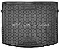 Резиновый коврик багажника Toyota Auris 2012- Avto-Gumm