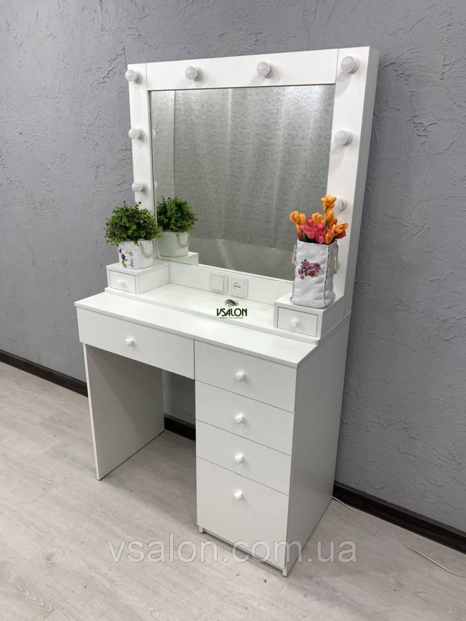 Стол для визажиста с подсветкой V410