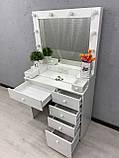Стол для визажиста с подсветкой V410, фото 3