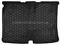 Резиновый коврик багажника Citroen Nemo 2008- Avto-Gumm