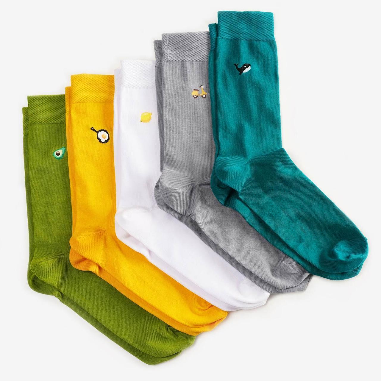 Шкарпетки Dodo Socks набір Kermit 44-46, 5 шт