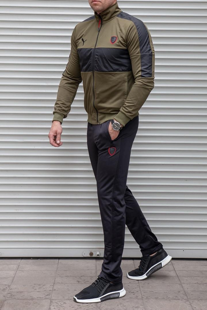 Мужской спортивный костюм Puma без капюшона