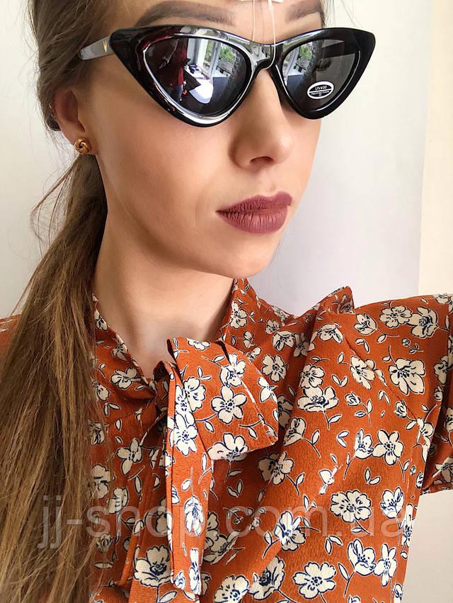Имиджевые солнцезащитные очки лисички