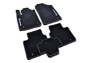 Ворсовые коврики для Lexus GS 300 (2wd) (2001-) Текстильные в салон авто (чёрный) (StingrayUA.)