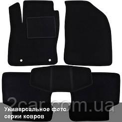 Ворсовые коврики для Cadillac SRX Текстильные в салон авто (чёрный) (StingrayUA.)