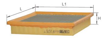 Фильтр воздушный Alpha Filter AF1676S (AP 003/6)