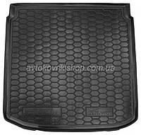 Резиновый коврик багажника Seat Altea XL 2006- (нижняя полка) Avto-Gumm
