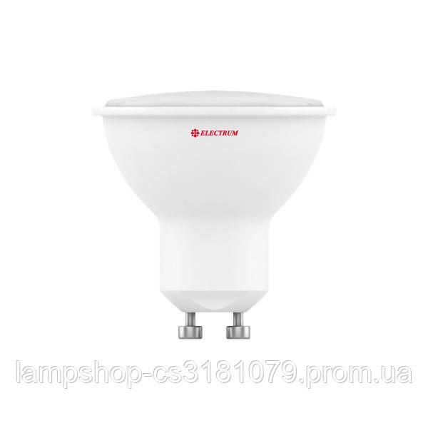 Лампа светодиодная MR-16 LR-6 3W GU10 4000K алюмопл. корп. A-LR-0475