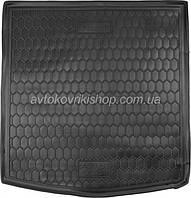 Резиновый коврик багажника Audi A4 B7 2004-2008 (седан)  Avto-Gumm