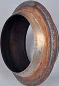 Фланец системы выхлопа (кольцо) Газель Бизнес,УАЗ двигатель 4216 (производство Россия)