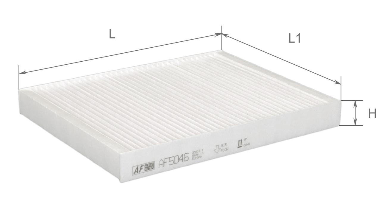Фильтр салонный Alpha Filter AF5046 (K1155)