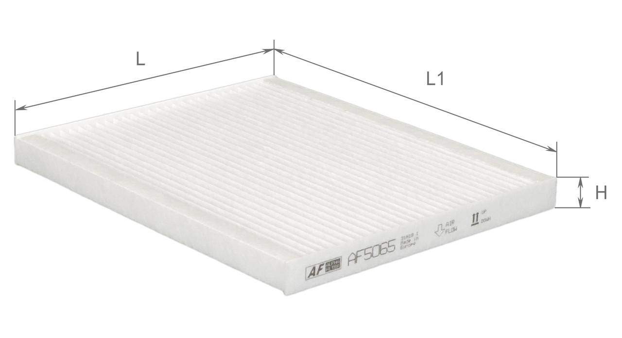 Фильтр салонный Alpha Filter AF5065 (K1172)