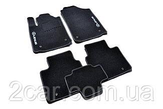 Ворсовые коврики для Lexus GX460 (2010-) Текстильные в салон авто (чёрный) (StingrayUA.)