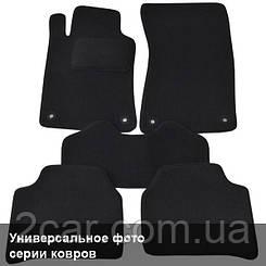 Ворсовые коврики для Seat Ibiza (2008-) Текстильные в салон авто (чёрный) (StingrayUA.)