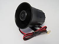 Сирена для автомобильной сигнализации 1 тон 20W 12V MINI