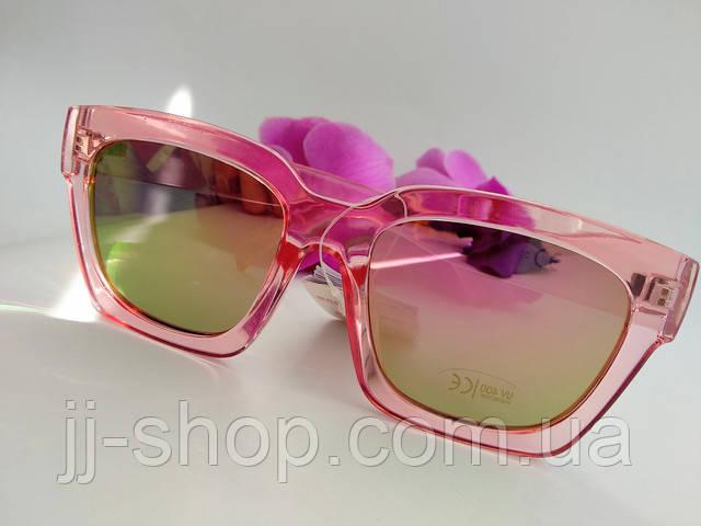 зеркальные очки от солнца имиджевые женские