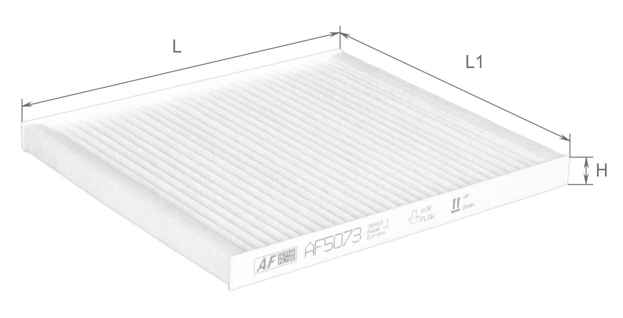 Фильтр салонный Alpha Filter AF5073 (K1232)