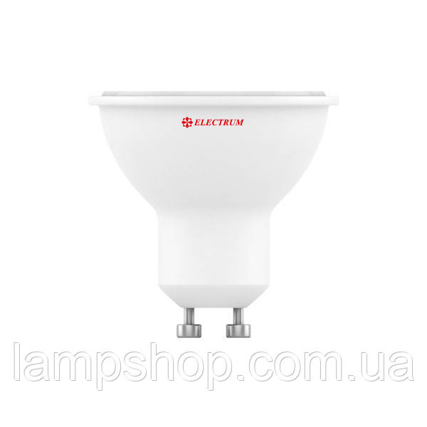 Лампа светодиодная MR-16 LR-10 5W GU10 3000K алюмопл. корп. A-LR-0070