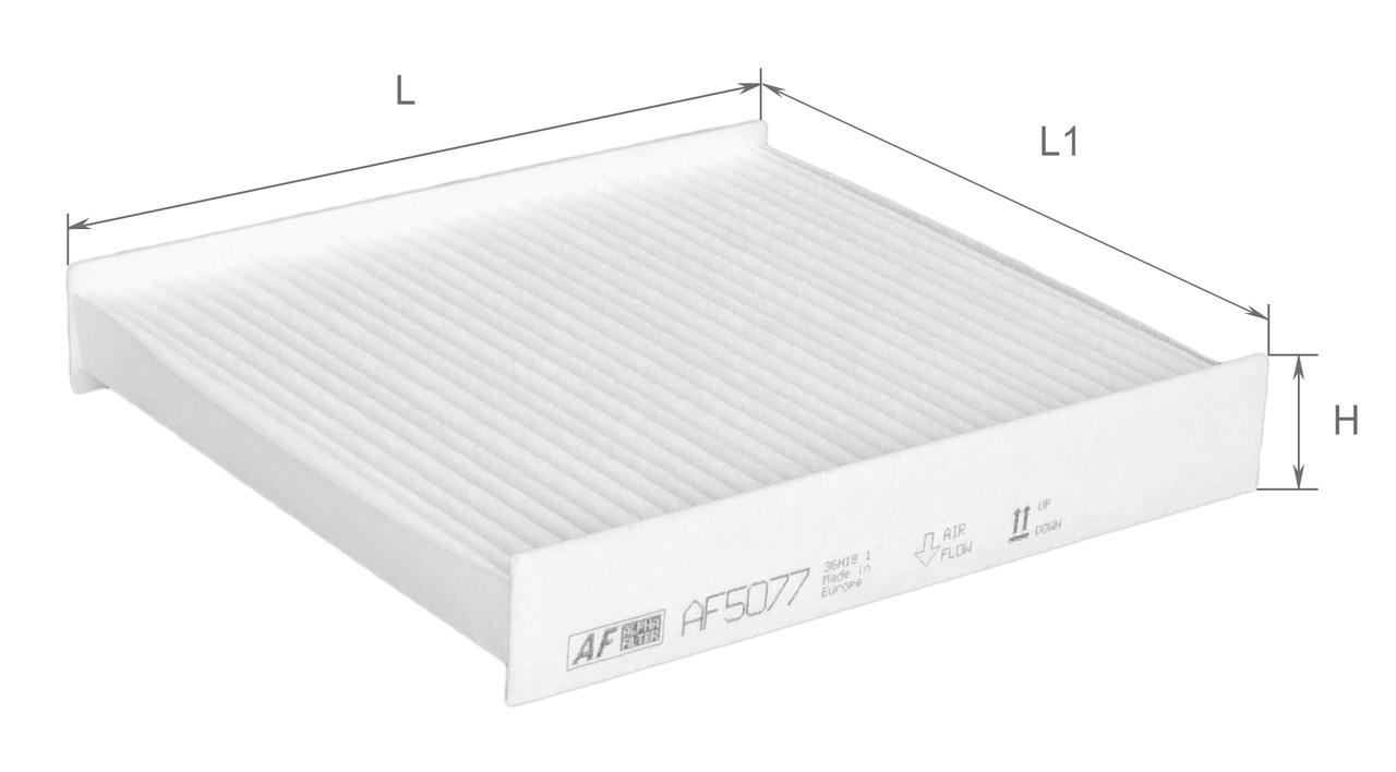 Фильтр салонный Alpha Filter AF5077 (K1321)