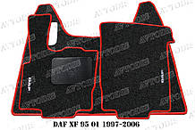 Ворсові килимки DAF XF 95 (автомат) VIP ЛЮКС
