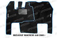 Ворсовые коврики Renault Magnum 440 2001- VIP ЛЮКС