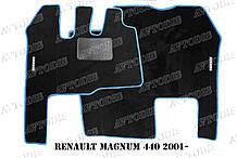 Килимки ворсові Renault Magnum 440 2001 - ЛЮКС VIP