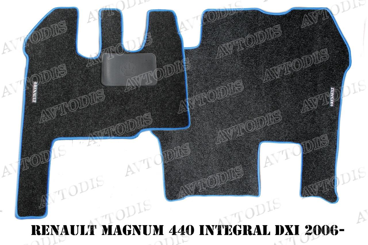 Килимки ворсові Renault Magnum 440 Integral DXI 2006 - ЛЮКС VIP