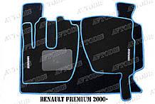Килимки ворсові Renault Premium 2000 - ЛЮКС VIP